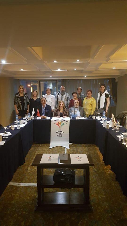 Türkiye Otizm Meclisi 3. dönem 9. Yürütme Kurulu toplantısı